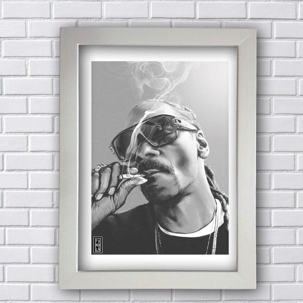 Quadro Decorativo Snoop Dogg