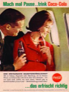 Placa Decorativa Coca Cola Drink Retro Vintage PDV372