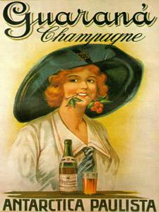 Placas Decorativas Vintage Guarana Champagne Retro PDV382