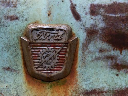 Placa Decorativa Vintage Carros Ford Retro PDV199
