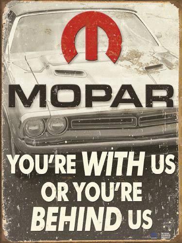 Placa Decorativa Vintage Carros Mopar PDV177