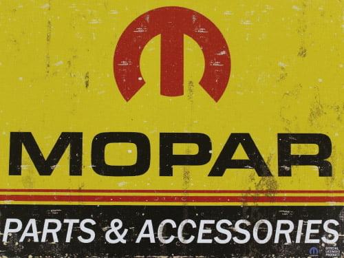 Placa Decorativa Vintage Carros Mopar Parts PDV178