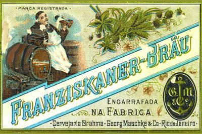 Placa Decorativa  Brahma Fraziskaner Retro Vintage PDV261