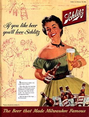 Placa Decorativa Schlitz Beer PDV241