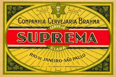 Placa Decorativa Cerveja Suprema Retro Vintage PDV255