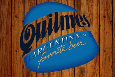 Placa Decorativa Quilmes Cerveza Argentina PDV236