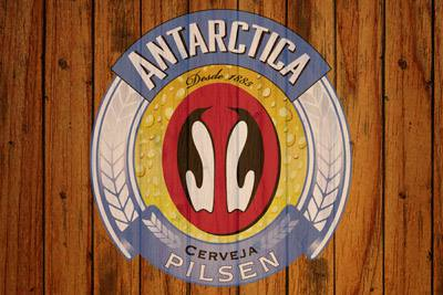 Placa Decorativa Cerveja Antarctica MDF PDV022