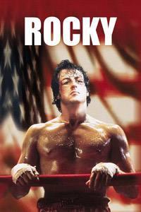 Placas Decorativas de Filmes Rocky Balboa PDV493