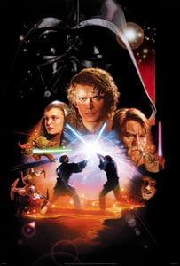 Placas Decorativas Star Wars Filmes PDV496