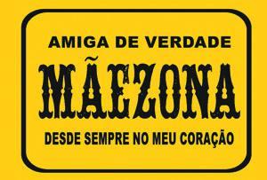 Placas Decorativas Frases Divertidas Maezona PDV281