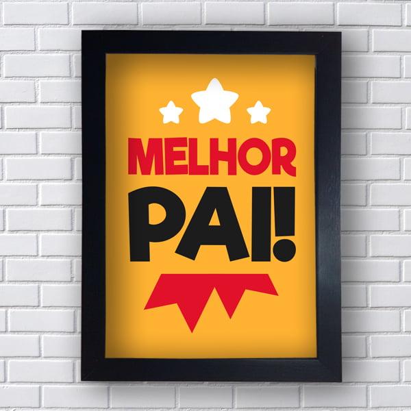 QUADRO DECORATIVO MELHOR PAI
