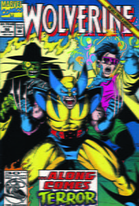 Placa Decorativa Wolverine Comic Retro PDV433
