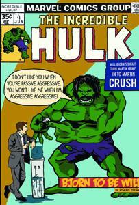 Placas Decorativas Hulk Comics Quadrinhos Retro PDV429