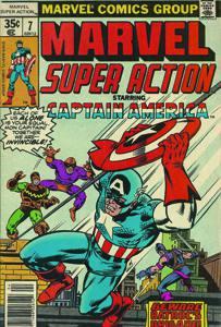 Placa Decorativa Capitao America Marvel Comics Quadrinhos Retro PDV430
