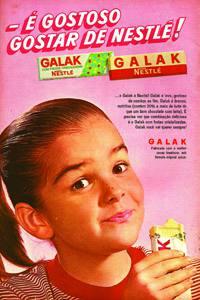 Placas Decorativas Galak Nestle Propaganda Antiga Vintage PDV442