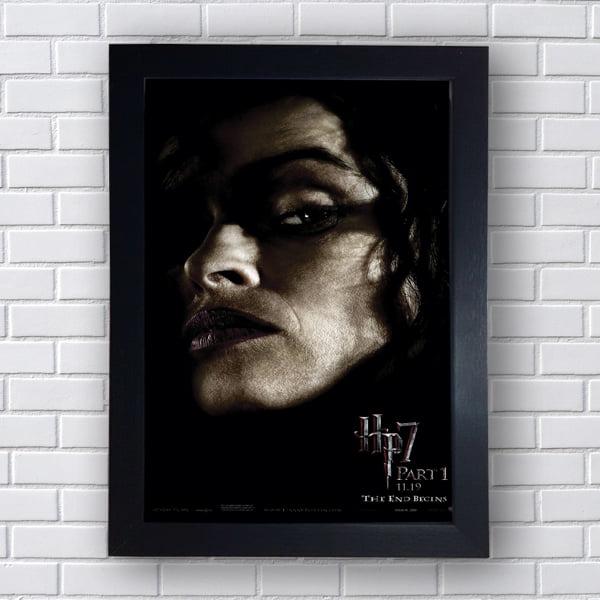 Placa Quadro Decorativo Bellatrix Lestrange