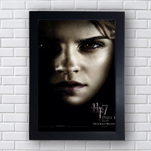 Placa Quadro Decorativo Hermione Granger