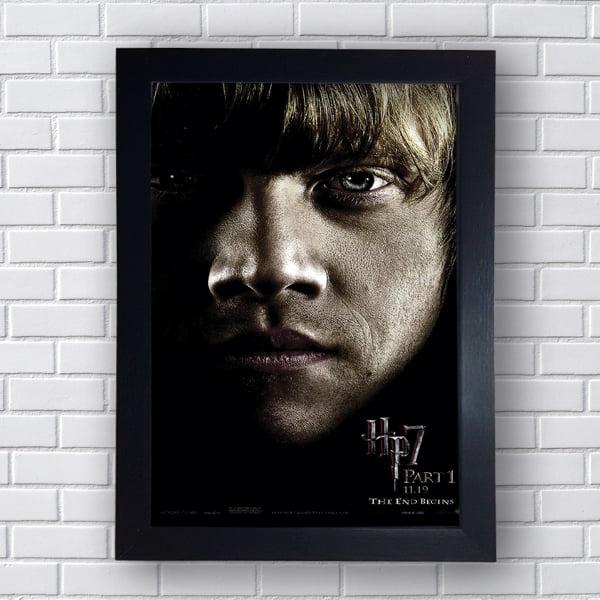Placa Quadro Decorativo Ronald Weasley