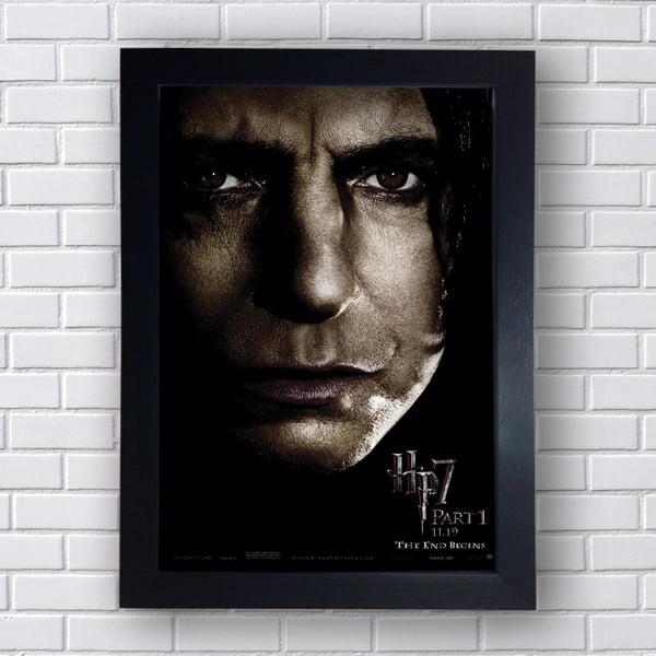 Placa Quadro Decorativo Severus Snape