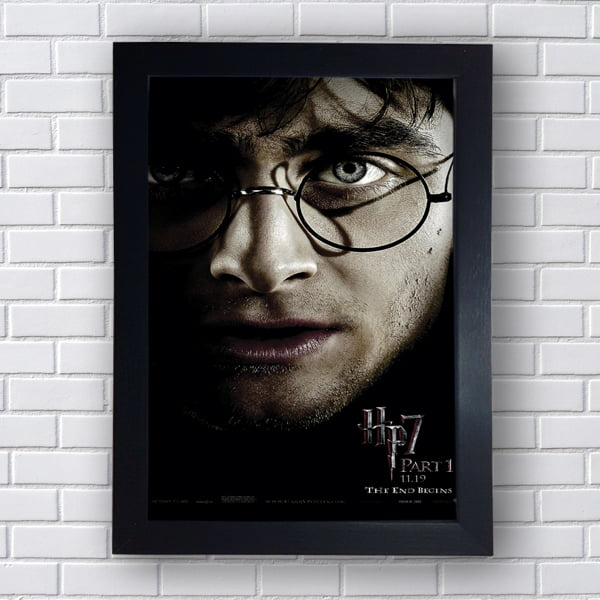 Quadro Decorativo Harry James Potter