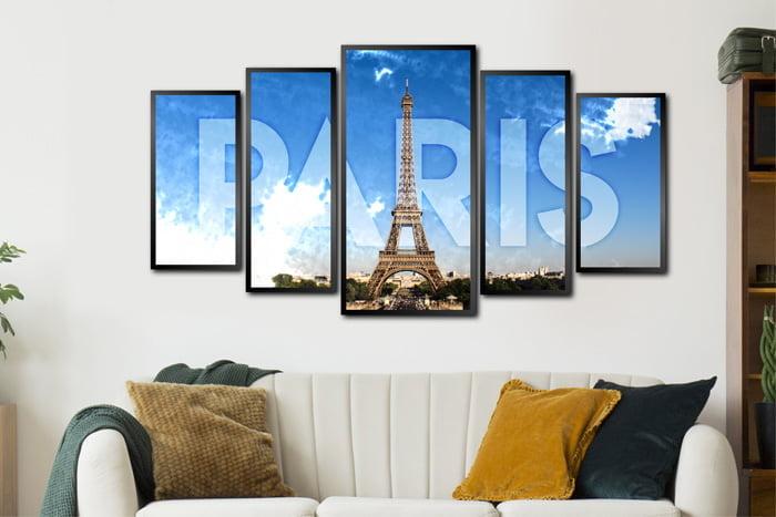Conjunto Quadros Paris