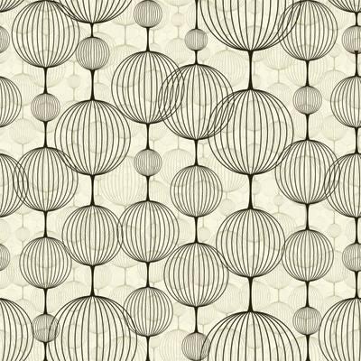 Papel de Parede Geometrico Globo Riscos Circulares