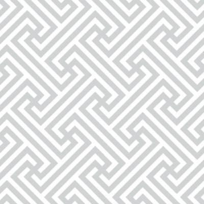 Papel de Parede Formas Geometricas Cinza