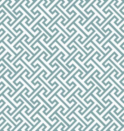 Papel de Parede Geometrico Turquesa