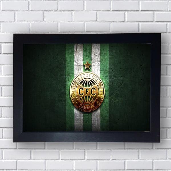PLACA QUADRO DECORATIVO CORITIBA FC