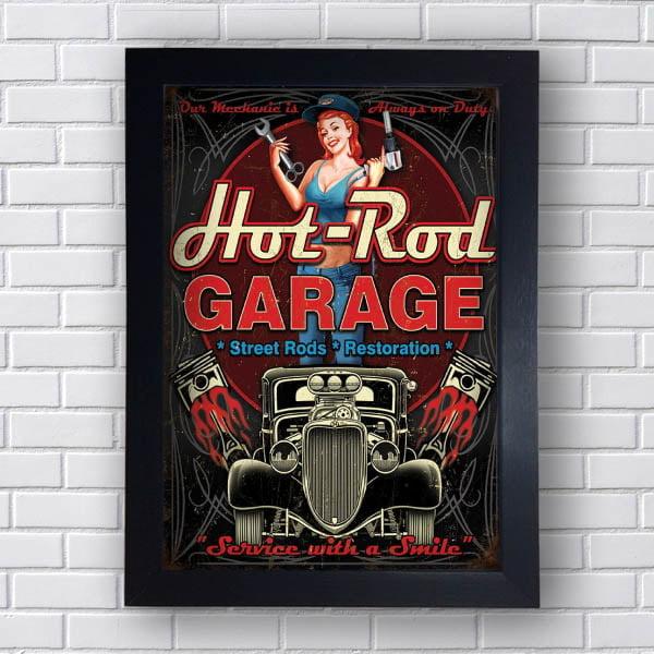 Quadro Carro Hot Rod