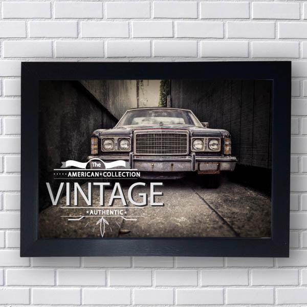 Quadro Carro Vintage