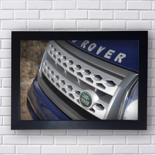 Quadro Decorativo Land Rover Grade Frontal