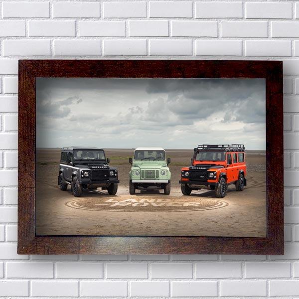 Quadro Land Rover Safari