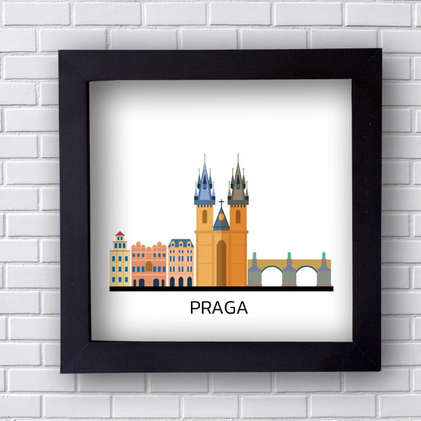 Quadro  Decorativo Praga
