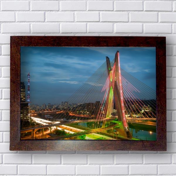 Quadro Ponte Estaiada