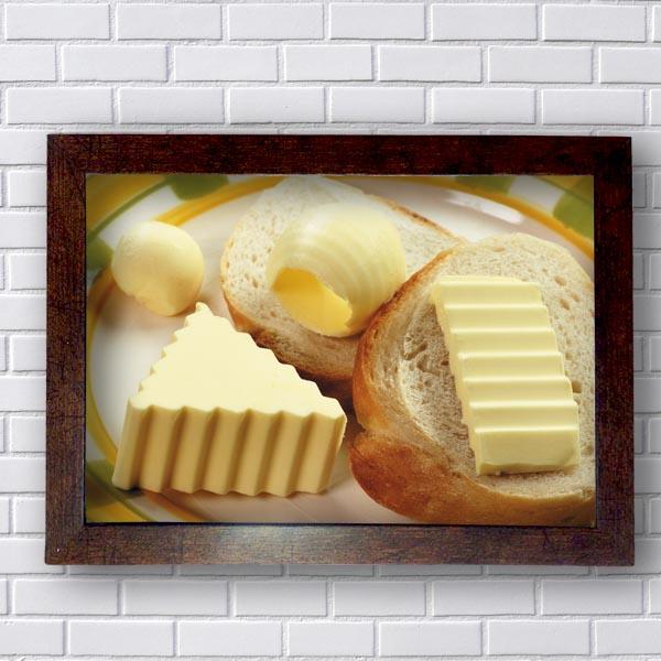 Quadrinhos Para Cozinha Manteiga