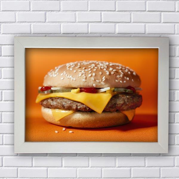 Quadros Decorativos Para Restaurante Hamburger
