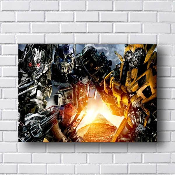 Placa Decorativa Transformers