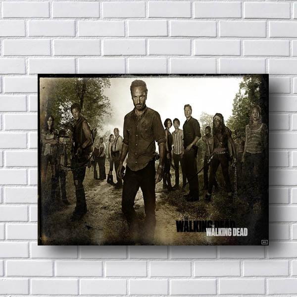 Quadro Walking Dead