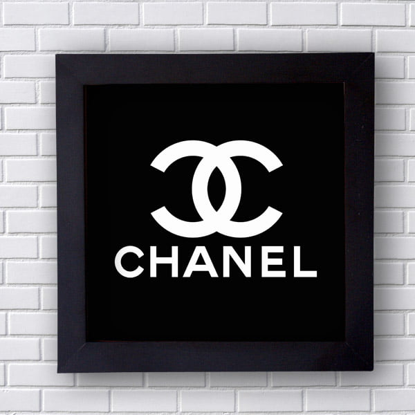 Quadro Decorativo De Chanel