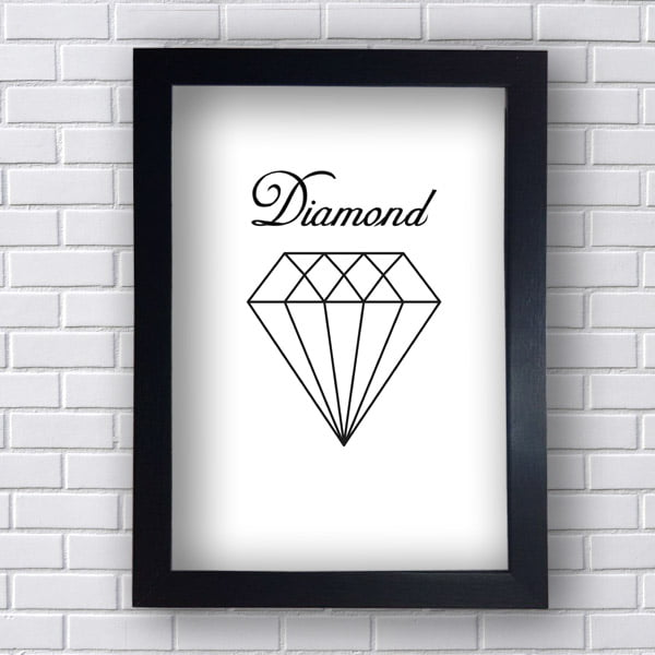 Quadro Decorativo Diamond