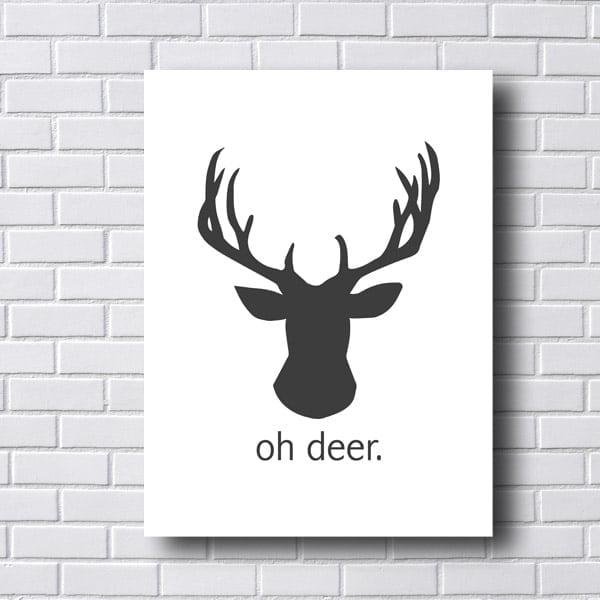 Quadro Decorativo Oh deer