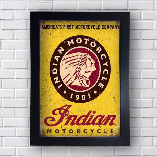 Quadro Decorativo Indian Motorcycle