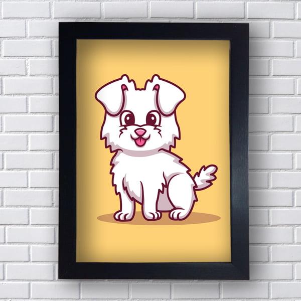 Quadro  Decorativo DOG LHASA