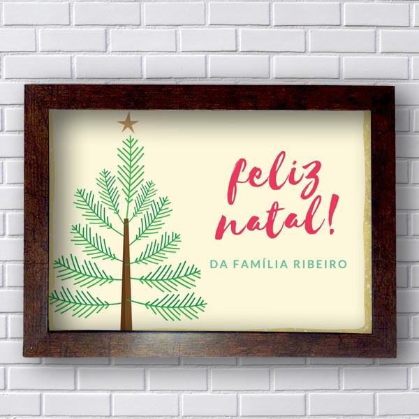 Quadro Decorativo de Natal