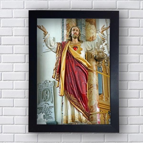 QUADRO DECORATIVO JESUS CRISTO MISERICORDIOSO