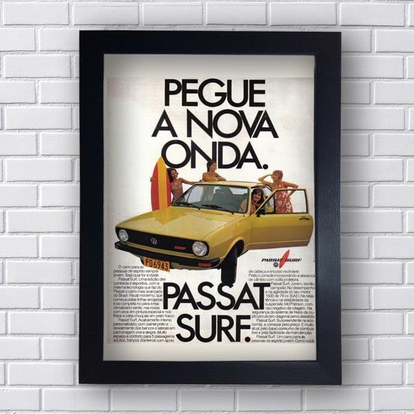 Quadro Decorativo Passat Surf