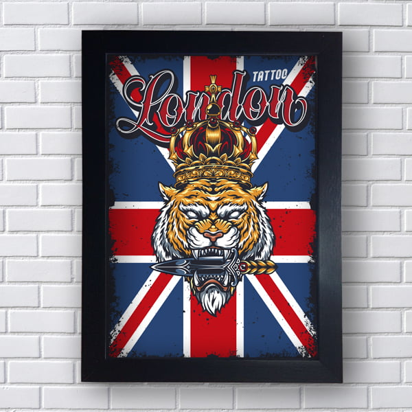 Quadro decorativo TATTOO LONDON