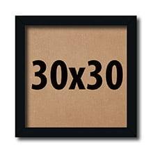 Kit 10 Molduras 30x30Cm Para fotos sem Vidro com Fundo