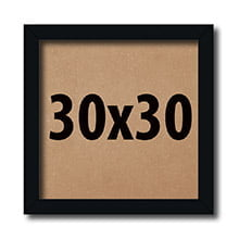 Kit 10 Molduras 30x30Cm Para Foto Com Acetato